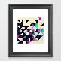 Ybsyssx Twyyz Framed Art Print