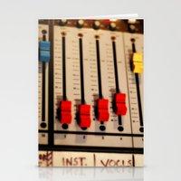Sound Board I Stationery Cards