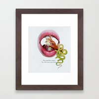 For the One You Love Framed Art Print