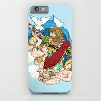 iPhone & iPod Case featuring Jesus Piece by Artless Arts