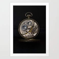 Keeping Time Art Print