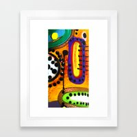 Other Planet Framed Art Print