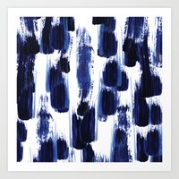 Blue mood Art Print