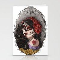 El Dia Del Los Muertos Stationery Cards