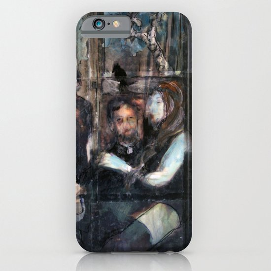 Blackbird Over Paradise iPhone & iPod Case