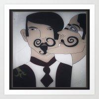More Lovely Men..... Art Print