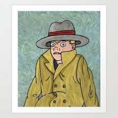 Vincent Adultman Art Print
