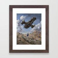 The Time Job - Firefly +… Framed Art Print