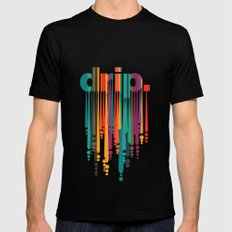 drip v2 Mens Fitted Tee Black SMALL