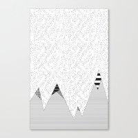 Mountain HD Canvas Print
