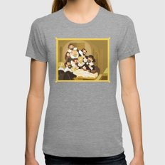 The Anatomy Lesson by Rembrandt Womens Fitted Tee Tri-Grey SMALL
