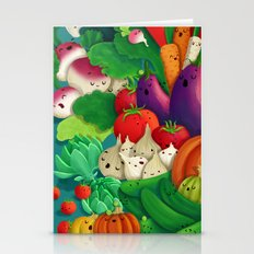 Nice People Eat Vegetabl… Stationery Cards