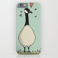 iPhone & iPod Case featuring Goose Love by Stephanie Smith