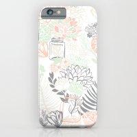 Cucumber Peaches and Cream Mason Jar wedding iPhone 6 Slim Case