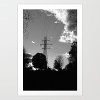 Wired. Art Print