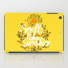 Smells Like Sunshine iPad Case