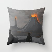Lord Of The Rings Throw Pillow