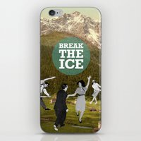 Break The Ice iPhone & iPod Skin