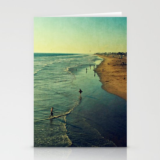 California Dreaming I Stationery Card