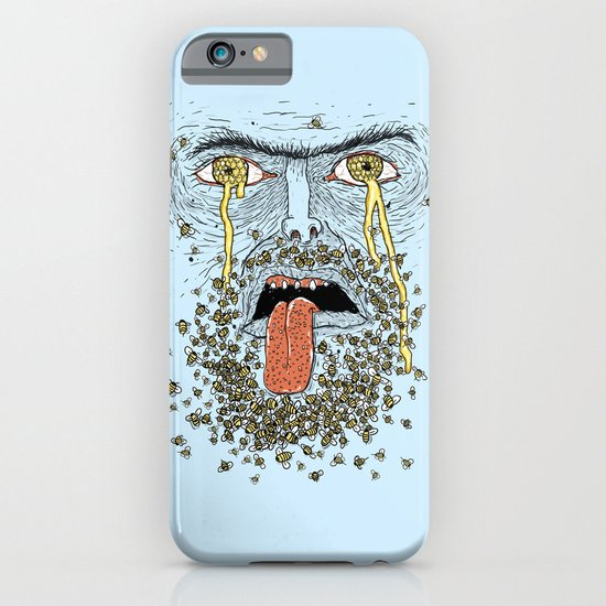 Wierd Bee-rd iPhone & iPod Case