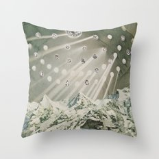 Loneliness of White Throw Pillow