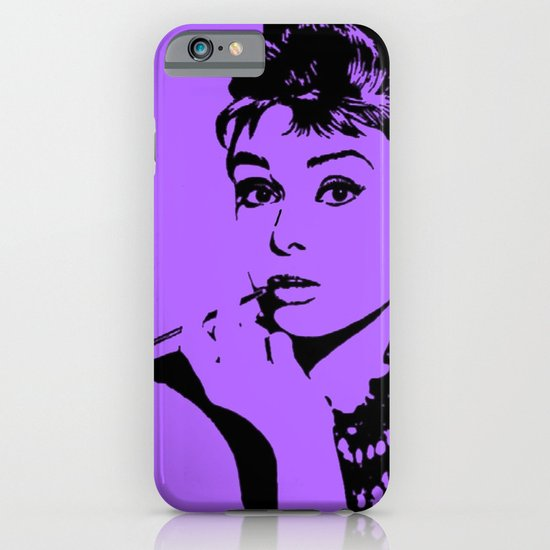Audrey Hepburn iPhone & iPod Case
