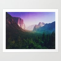 I'm Mountain Crazy Art Print