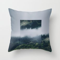 I Get Nervous.  Throw Pillow