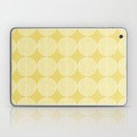 Sunny Circles Laptop & iPad Skin