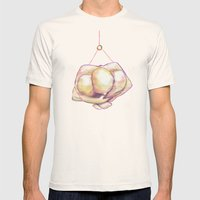 The Hangman Mens Fitted Tee Natural SMALL