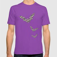 BatPattern Mens Fitted Tee Ultraviolet SMALL