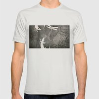 Lost City 2 Mens Fitted Tee Silver SMALL