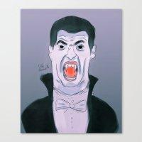 Suarez The Vampire Canvas Print