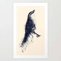 The Songbird Art Print