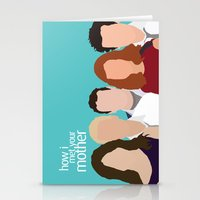 How I Met Your Mother Stationery Cards