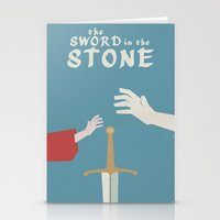 The Sword In The Stone -… Stationery Cards