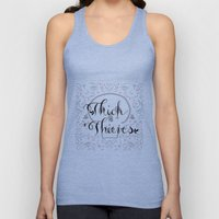 Thick as Thieves Unisex Tank Top