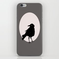 Crow Love iPhone & iPod Skin