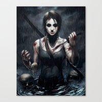 Tomb Raider Canvas Print