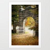 Enter Exit Art Print