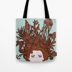 HAIR IN WATER Tote Bag