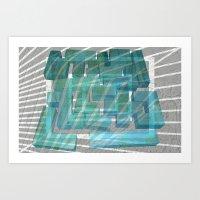 Mosaik 1.2 Art Print