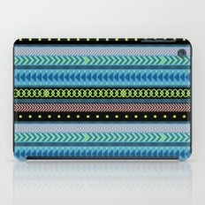 Together Again - tribal geometrics iPad Case