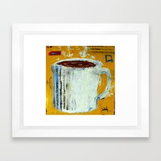 Cup of Coffee 1 Framed Art Print