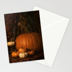 Glow on the Pumpkins Autumn Still Life Stationery Cards