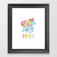 1983 Framed Art Print
