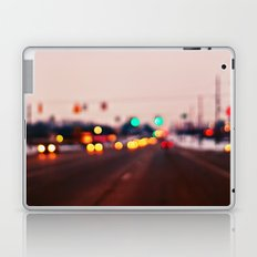 City Lights Bokeh Laptop & iPad Skin