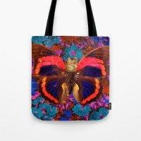 Caterflies Tote Bag