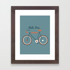 Ride Free Framed Art Print