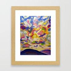 Okanagan Sky Framed Art Print